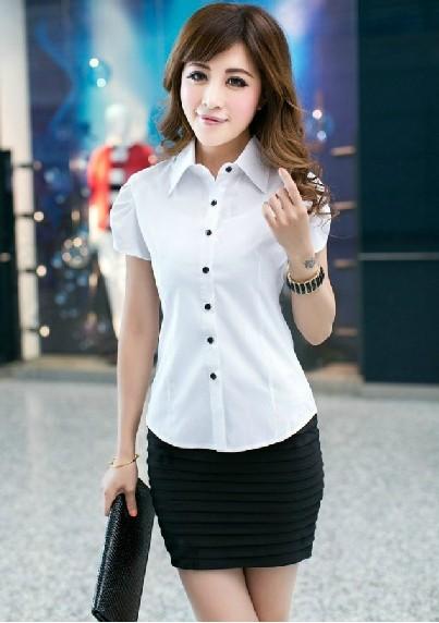 女衬衫短袖搭配技巧